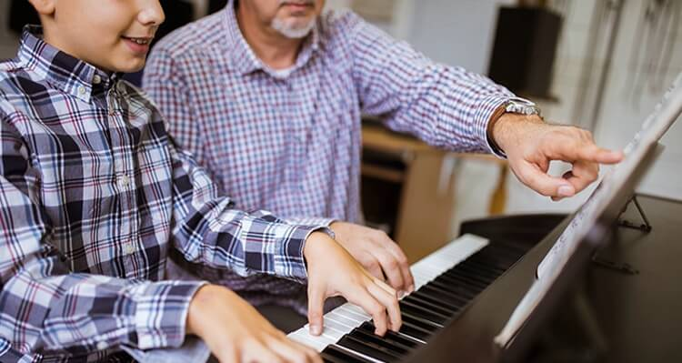 Fixed or flexible concept for music lessons