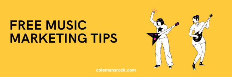 Free Music Marketing Tips