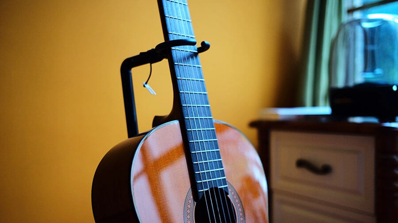 The guitar stand